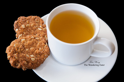 Anzac biscuits and a spot of tea