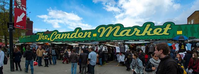 The Camden Market à Camden Town