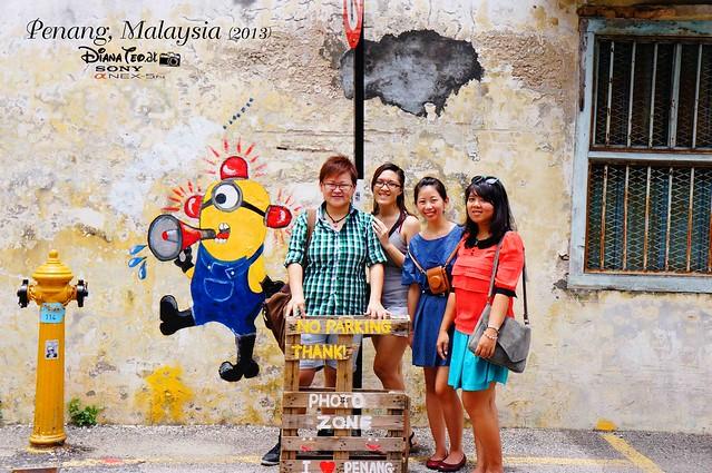 21. Penang's Art Street