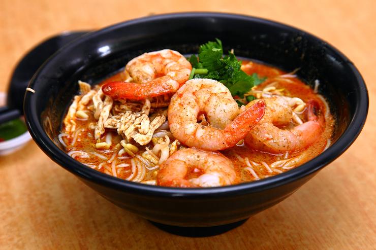 Woon Lam cafe Sarawak-Laksa