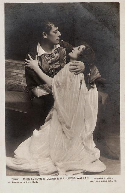 Lewis Waller, Evelyn Millard