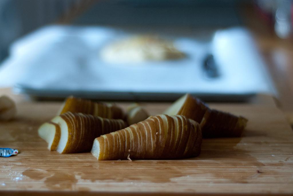 Pears, sliced