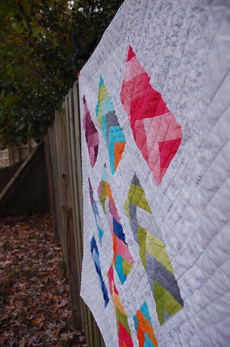Rainbow Braid Quilt