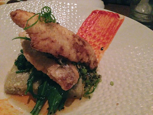Tapioca Crusted Snapper at The Church Key