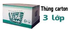 thùng carton nghành dược phẩm