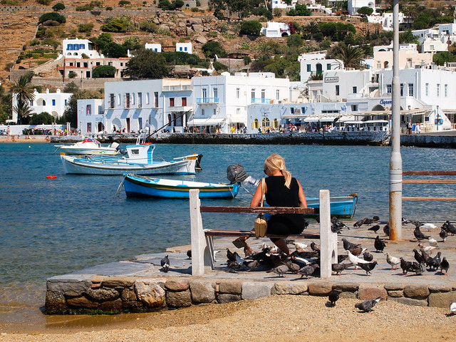 Mykonos waterfront