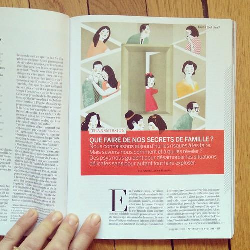 November Issue of the Magazine Psychologies by la casa a pois