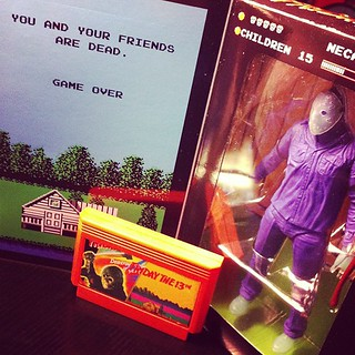 It's Famicom Friday the 13th and I got Friday the 13th (bootleg) for the Famicom! Plus a Jason Figure based on the game.