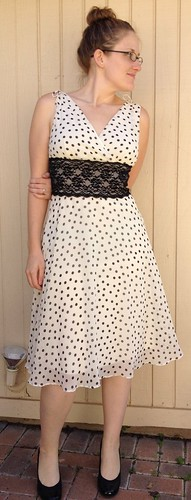 Polka-Dot Party Dress