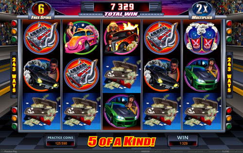 Racing for Pinks Free Spins Feature