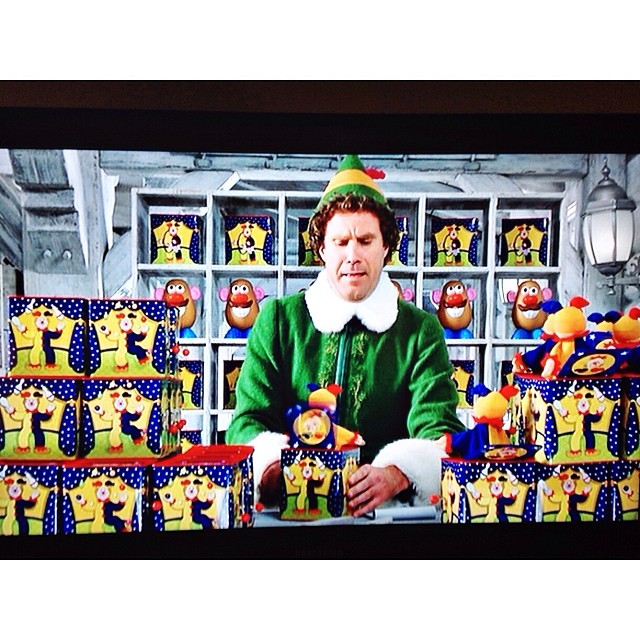 Too early? I love this movie #elf