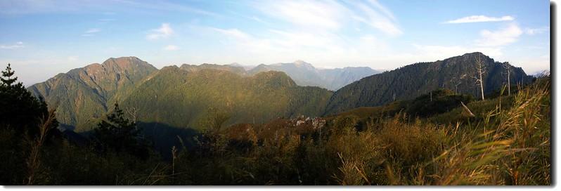 奇萊東稜(From 帕托魯山) 2