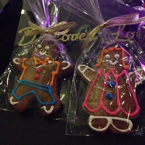 Gingerbread Boy & Girl - Park Hotel's Xmas 2013