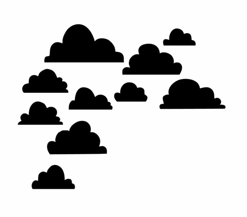 free clouds cut file - from mel stampz