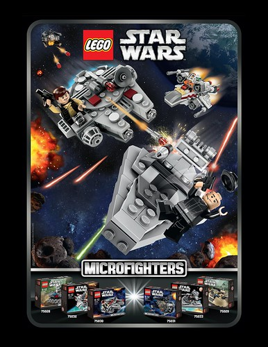 LEGO Star Wars Microfighters Poster