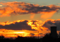 Sunset Saltend from Preston
