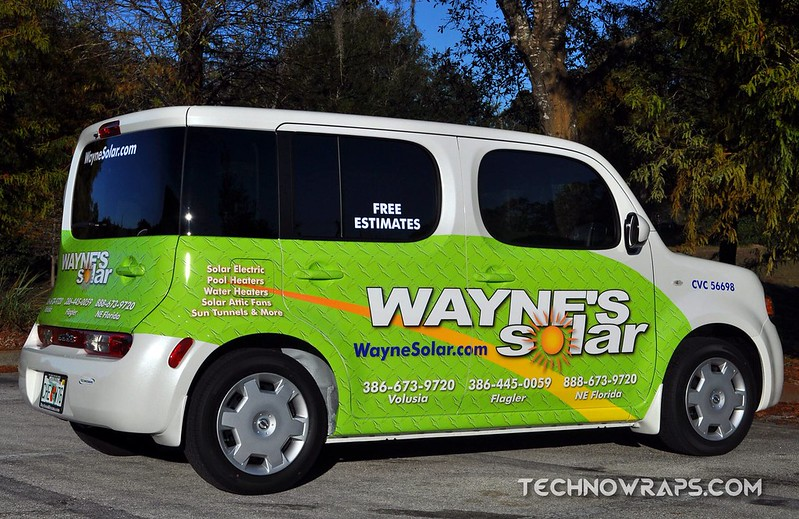 Nissan Cube car wrap by TechnoSigns in Orlando