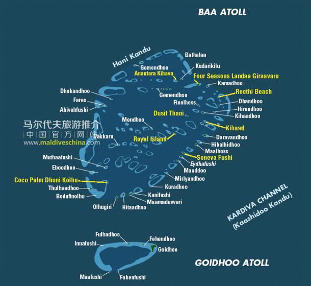 马尔代夫Baa环礁