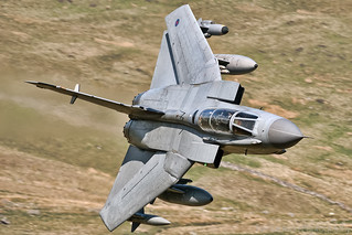 Sweeping Beauty 67 Degrees swept RAF Panavia Tornado GR4
