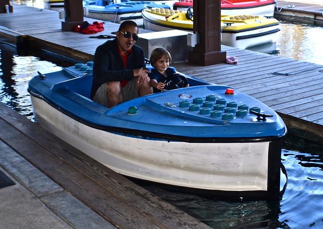 Legoland, Florida - boating lessons for kids