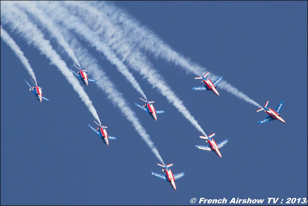 Patrouille de France 60 ans au Free Flight World Masters Valence 2013, Meeting aerien 2013