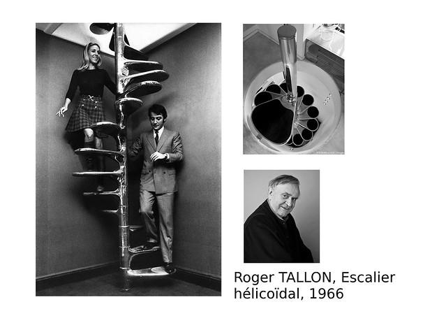 08. TALLON Roger, Escalier hélicoïdal, 1966