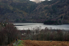 Thirlmere and Deergarth How Island, The Lake District, Cumbria, UK
