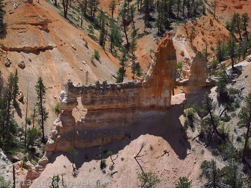 Tower Bridge, as seen from the Fairyland Trail, Bryce Canyon National Park, Utah
