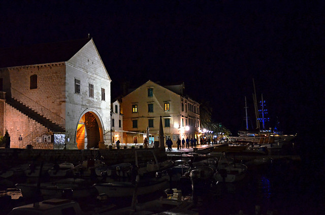 The Arsenal and Theatre, Hvar, Croatia