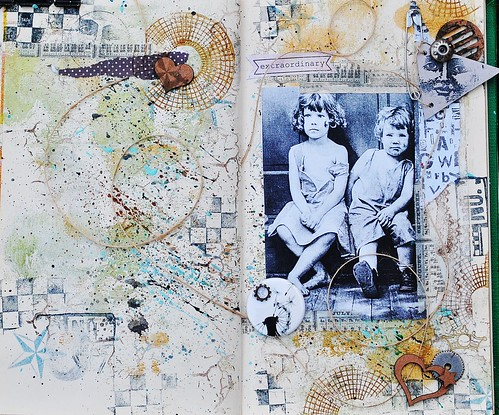Extraordinary, Art Journal page, full