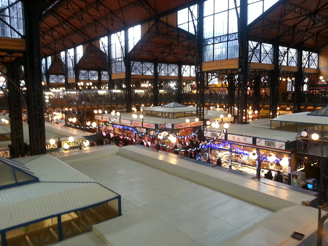 Inside the Central Market, Budapest