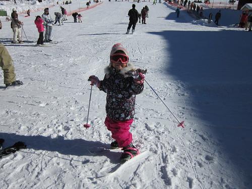 スキー場にて(上の孫娘) 2014.1.12 by Poran111