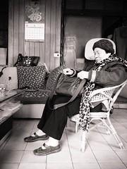 今年82歲的鄭燕阿嬤,遭台科大控告要求返還不當得利60餘萬元,好蟾蜍俱樂部提供