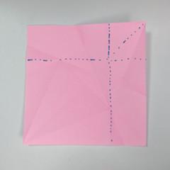 สอนการพับกระดาษเป็นลูกสุนัขชเนาเซอร์ (Origami Schnauzer Puppy) 016
