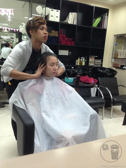 moroccon oil treatment by color my hair technical salon