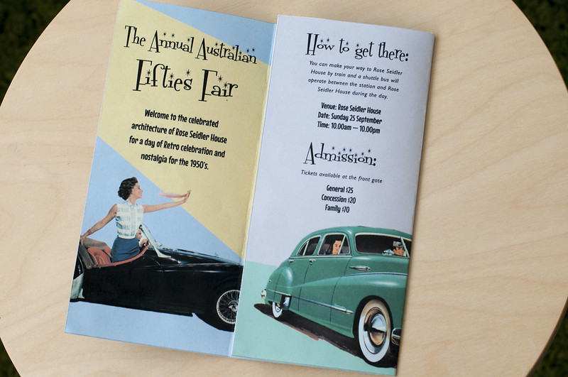 Fifties Fair Brochure