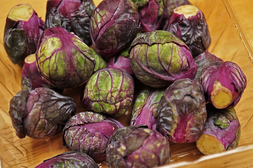 Frieda's Baby Purple Brussels Sprouts #healthynewyear