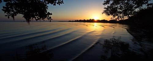light sunset nature water florida fl ripples ericbrown brevard indianriver haulovercanal sunsetlandscape