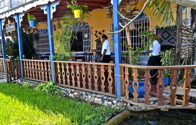 La Danta Restaurant Flores Guatemala