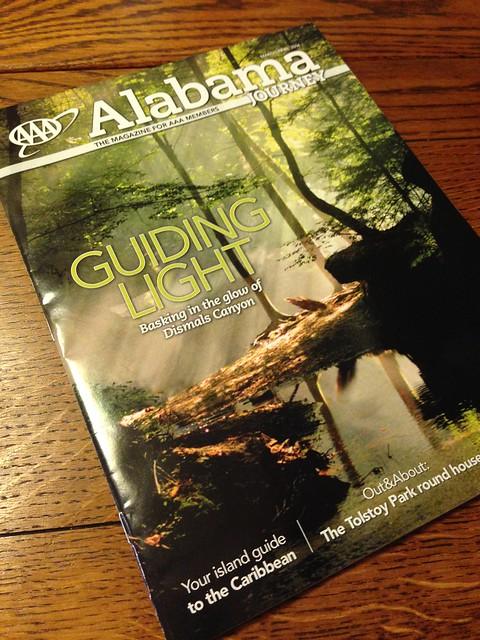 Cover, AAA Alabama Journey Mag