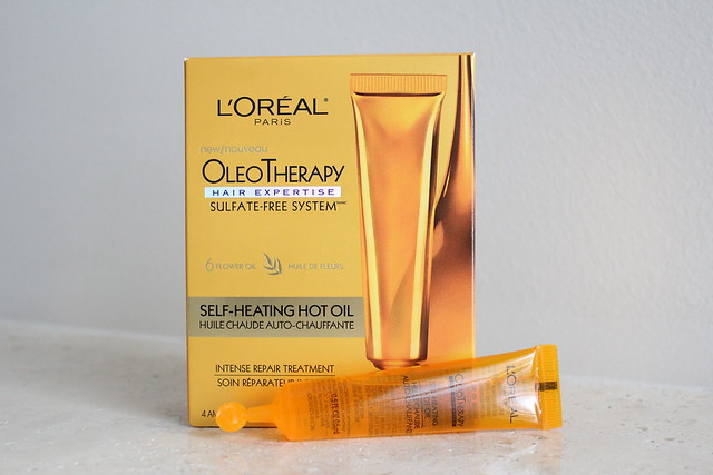 L'Oreal Paris OleoTherapy Self-Heating Hot Oil review