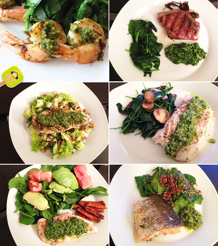 dishes with provenzal chimichurri sauce - recipe by ccg