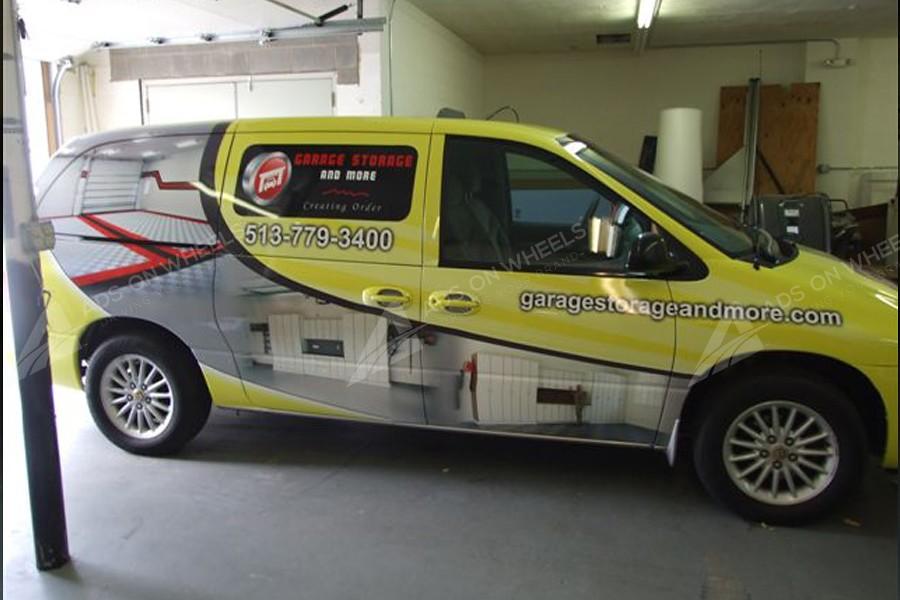 Passenger Van Wraps Vehicle Wraps Fleet Graphics