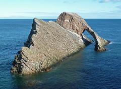 Bow Fiddle Rock,  Portknockie, Scotland