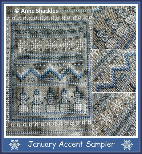 Periwinkle Promises-January Accent Sampler
