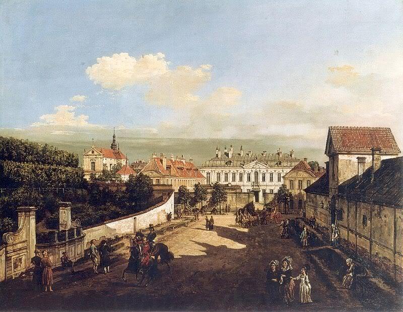 十八世纪华沙风景画7