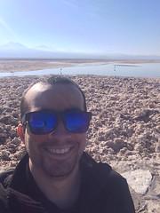 La última selfie en Chaxa