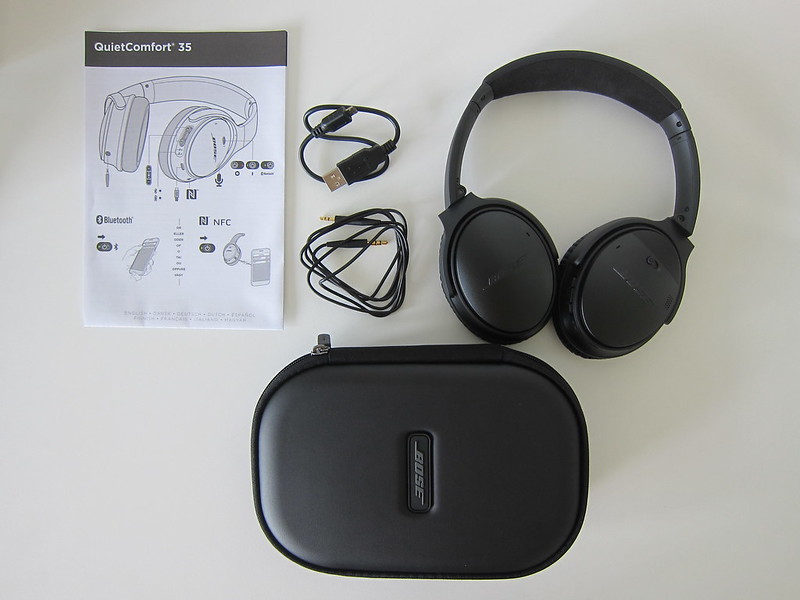 Bose QC35 - Box Content