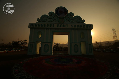 Night views of Samagam Gate