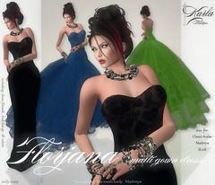 ! Karla Boutique ! Florjana multi gown dress